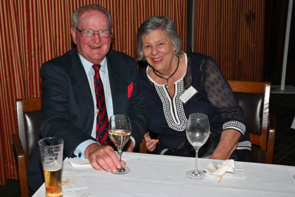 Paul Burgess with Libby Hodgkins